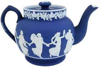 One Kings Lane Vintage Antique English Single Cup Teapot