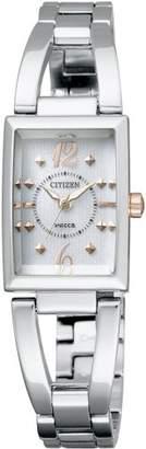 Wicca (ウィッカ) - [シチズン]CITIZEN 腕時計 wicca ウィッカ Eco-Drive エコ・ドライブ ハーフバングルタイプ NA15-1561B レディース