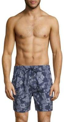 Slate & Stone Printed Swim Shorts