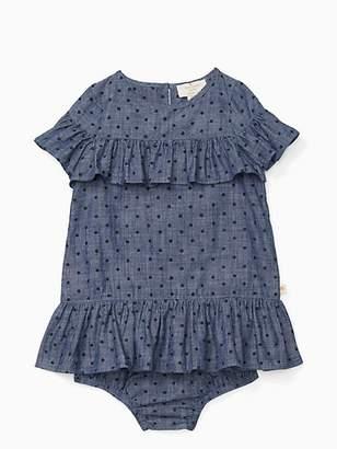 Kate Spade Infant ruffle dress