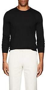Fioroni Men's Fine-Gauge Knit Cashmere Sweater - Black