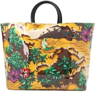 DSQUARED2 Hawaiian printed tote bag