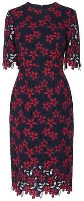 LK Bennett Luann Blue Geranium Dress