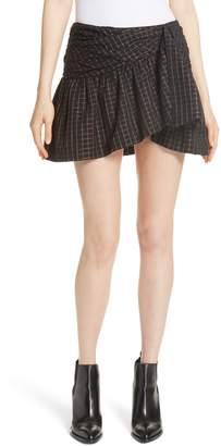 Mes Demoiselles Sylvia Faux Wrap Mini Skirt