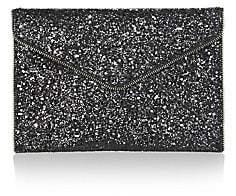 Rebecca Minkoff Women's Leo Glitter Leather Envelope Clutch