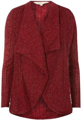 Dorothy Perkins Womens **Billie & Blossom Mulberry Waterdall Cardigan