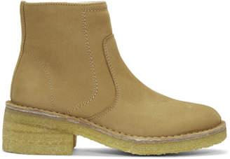 A.P.C. Tan Ariette Boots