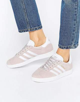 adidas Ice Purple Suede Gazelle Unisex Sneakers