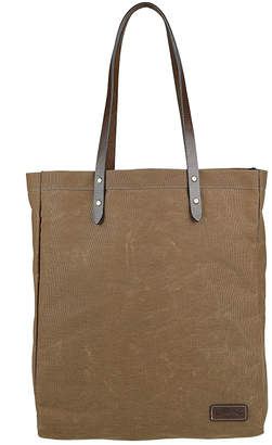 A Leather Studio Waxed Canvas Market Bag