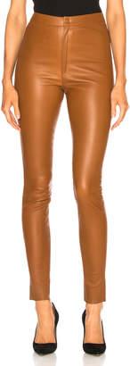 Zeynep Arcay High Waisted Skinny Leather Pants