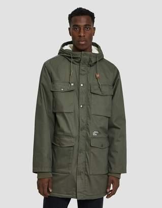 Obey Heller II Jacket in Army