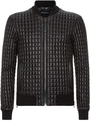 Dolce & Gabbana Quilted Bomber Jacket