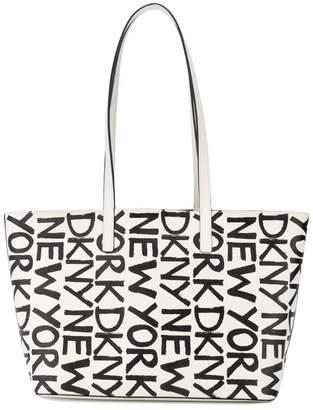 DKNY small logo shopping bag
