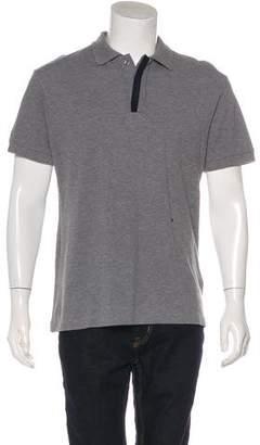 Christian Dior Piqué Polo Shirt