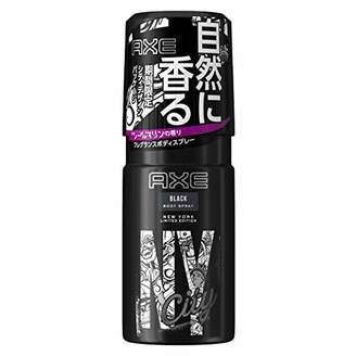 Axe (アックス) - アックス フレグランス ボディスプレー ブラック 60g (クールマリンのさりげない香り)