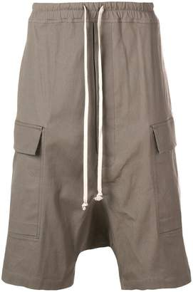 Rick Owens drawstring cargo shorts