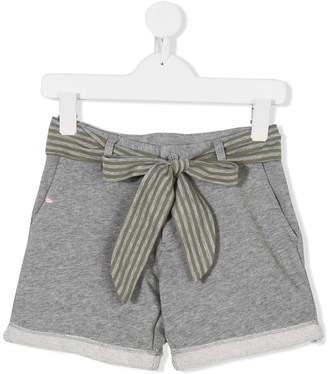 Sun 68 striped belt shorts
