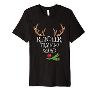 Reindeer Training Squad Team Christmas Gift T-Shirt