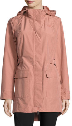 The North Face Tomales Bay Tweed DryVentTM Jacket, Light Mahogany $180 thestylecure.com