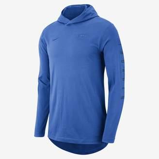 Nike Oklahoma City Thunder Men's Hooded Long-Sleeve NBA T-Shirt