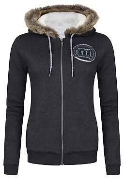 O'Neill Womens San Fran Fleece Jacket Full Zip Top Coat Sweatshirt Jumper Hooded
