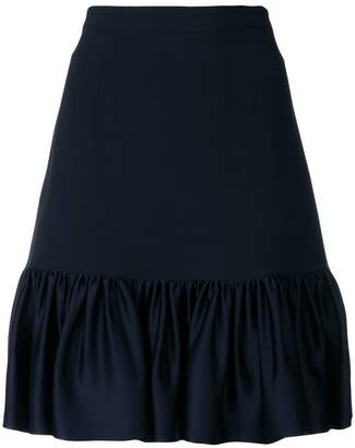 Stella McCartney ruffled hem skirt