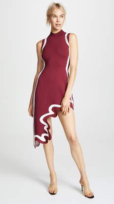 PH5 Iris Wide Border Asymmetrical Dress