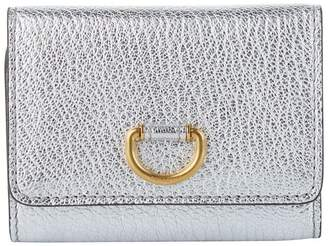 Burberry Leather Small D-Ring Wallet