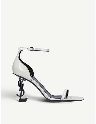Saint Laurent Opyum 85 patent-leather sandals