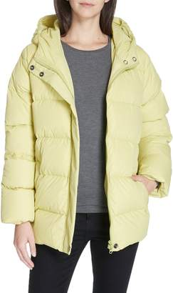 Eileen Fisher Hooded Down Jacket
