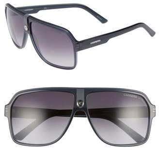 Carrera Eyewear 62mm Gradient Aviator Sunglasses