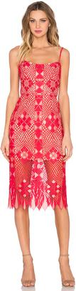 BCBGMAXAZRIA Aliese Dress $368 thestylecure.com
