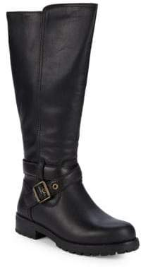 UGG Harington Leather UGGpure-Lined Tall Boots