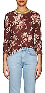 Zimmermann Women's Floral Linen-Cotton T-Shirt