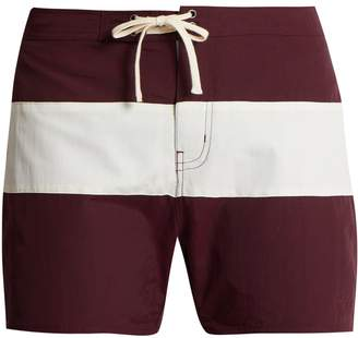 Saturdays NYC Grant colour-block swim shorts