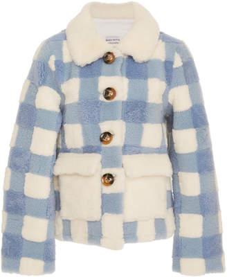 Saks Potts Lucy Cropped Check Jacket