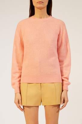 KHAITE The Viola Sweater in Salmon