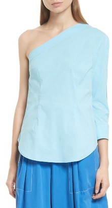 Women's Tracy Reese One-Shoulder Top $198 thestylecure.com