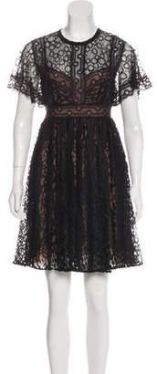 Elie Saab Lace Mini Dress