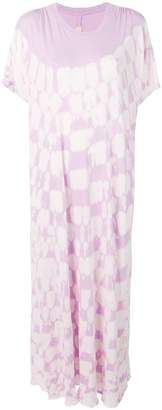 Raquel Allegra tie-dye knit dress