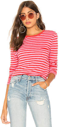 Pam & Gela Long Sleeve Crop Pocket Tee