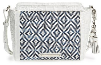 Brahmin Carrie Leather Crossbody Bag - Blue $265 thestylecure.com