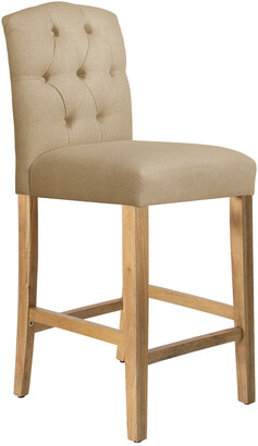 Skyline Furniture Tufted Arched Bar Stool