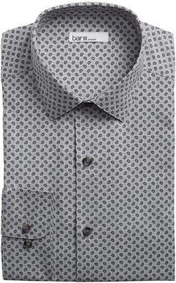 Bar III Men's Slim-Fit Stretch End On End Pine Dress Shirt