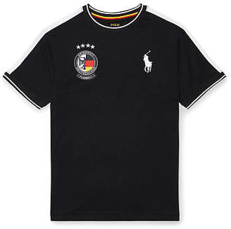 Ralph Lauren Germany Cotton Jersey T-Shirt