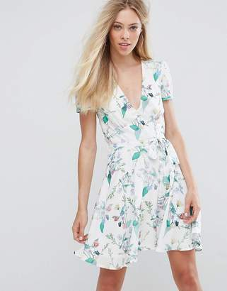 Oh My Love Printed Tea Dress