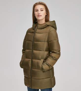 Andrew Marc Final Sale BETTY ZIP UP SYNTHETIC DOWN