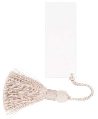 Christofle Silverplate Tassel Bookmark
