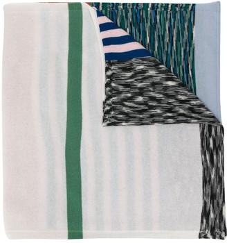Missoni colour block striped knit scarf