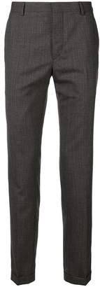 Prada tailored check trousers